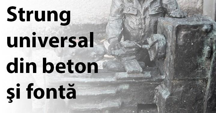 Strung universal din beton şi fontă