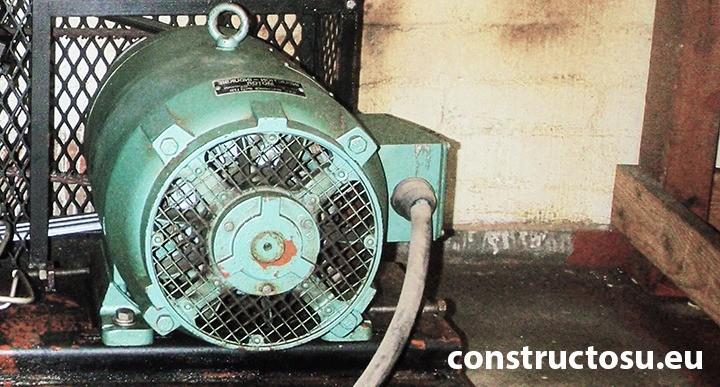 Motorul electric al unui compresor