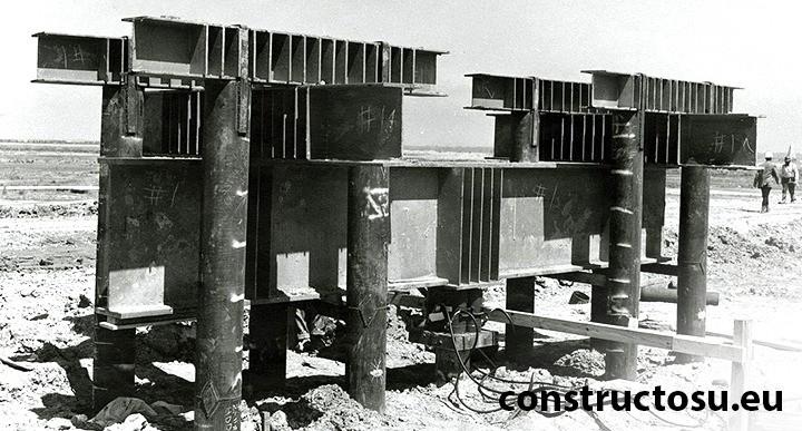 Testarea pilonilor de fundație cu cricul hidraulic