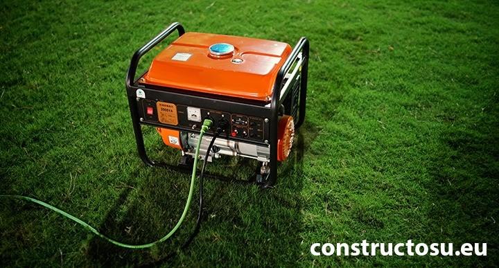 Generator electric pe benzină