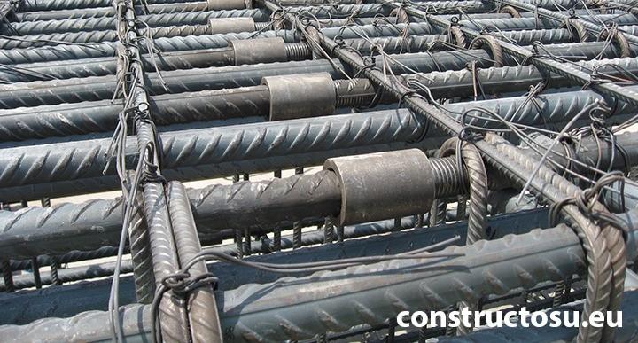 Armătură, fier beton filet conic